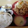 Marukinshokudou - 料理写真:から揚げ定食950円