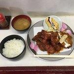 つ村きっちんハウス - もり合わせ料理  ¥780                                           チキンカツ2 からあげ2 クリームコロッケ2 魚フライ 魚天ぷら