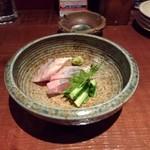 うぶど - 料理写真:縞アジの刺身