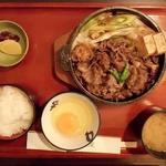 79297402 - 牛鍋定食1400円