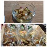 79298199 - ◆ミニオードブルが付き、数種類から選べますので「キノコと蛸」の前菜を。