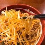 田所商店 - 中太縮れ麺 麺リフトの写真は上手く撮れません・・・