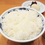 銀座 天ぷら 阿部 - ごはん