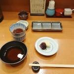 銀座 天ぷら 阿部 - 天婦羅ランチのセット