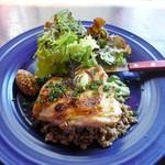 アメニテ ギンザ - 鶏もも肉のハーブロースト~レンズ豆のサラダ~