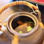 松茸屋魚松 - 松茸の土瓶蒸し☆