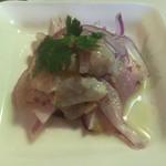 ペルー料理 ロミーナ - 魚介のレモンマリネ