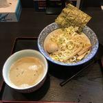 79306076 - 奥原流つけ麺 ごま味噌ダレ + 味付玉