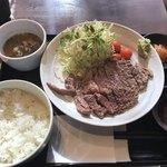 79308190 - ランチ リプロースステーキ定食1500円(税込)