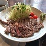 79308193 - ランチ リプロースステーキ定食