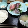 海鮮市場食堂 - 料理写真:刺身3点盛り定食620円