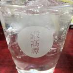 串のこたに - 鍛高譚ソーダ280円