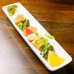 彩り5種野菜と林檎のピクルス