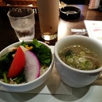 79312018 - サラダとスープ。