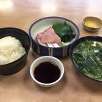 びんび家 - はまち定食1,080円です。はまちの美味しさを満足できます。