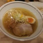 らぁ麺 紬 - あっさり塩ラーメン
