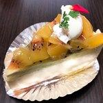 ケーキハウスミサワ - キウイのケーキ