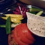 マハロ大人の隠れ家 - ひとくちスティック野菜のバーニャカウ