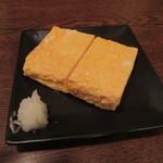 銀蕎麦 國定 - 「だし巻き玉子」(1/2量)