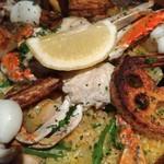 シラントロ - 蟹のパエリア