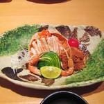 寿司栄 華やぎ - 香箱蟹。