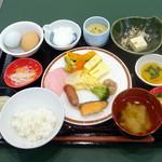 レストラン東北牧場 - 朝食ビュッフェ1,188円