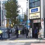 79318986 - JR新橋駅から汐留方面へ少しだけ歩くと、交差点の角に「せとうち旬彩館」が見つかる