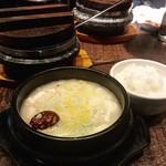79319036 - 参鶏湯純豆腐チゲ定食