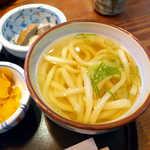 かおりひめ - 香川県産小麦「さぬきの夢」使用。本格的なコシと、出汁の旨味が感じられる