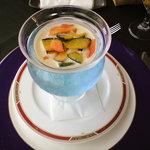 レ・セゾン - じゃがいもの冷製スープ