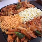 金大来 - 料理写真:チーズダッカルビ[もちもち・トロトロ)