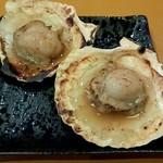 ○酒ぶっちぎり食堂 - 「ほたて焼き2枚」350円