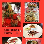 Living cafe Samantha - サマンサ初クリスマスパーティーの時のお料理