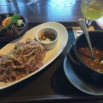 農園レストラン トリトン - カレーランチ1280円
