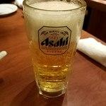 小肥羊 - ビールはアサヒ