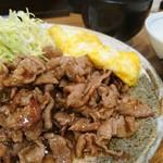 大阪トンテキ - とんたま定食 780円