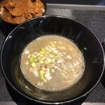煮干乱舞 - 濃縮鶏煮干つけ麺 つけスープ