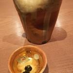 手打ち十割そば 振甫町 縁 - 日本酒、竹鶴980円