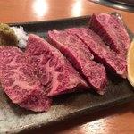 お肉屋さんの焼肉 まるやす - ハラミ1250円♫