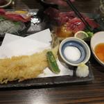 魚参 - 穴子の一本てんぷら