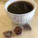 いきいき - コーヒー無料(コーヒーカップが小さいので湯呑みで飲んだ 笑)。飴も。