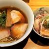 らぁめん鴇 - 料理写真:特製醤油らーめん+小丼