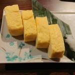 個室で味わう彩り和食 栄 - 出汁巻き卵