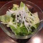 MOZU - セットのサラダ(^^)