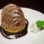 カフェ グラート - 料理写真:ショコラモンブラン