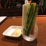 79336893 - スティック野菜。