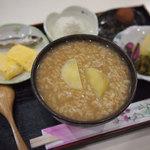 茶房本社 - 朝定食 茶粥