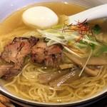 麺やひだまり - 「味玉和塩らぁ麺」820円也。税込。