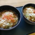 道草庵 - 料理写真:とろろそば かき揚げソバ