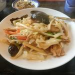 中華料理 萬福 - 料理写真:野菜炒め